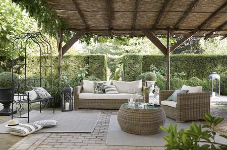 Muebles y piezas de decoración tan ideales que tendrás el jardín más bonito