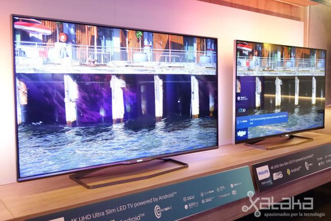 Esto es lo que nos ofrecen las nuevas televisiones de Philips con Android TV, Ambilight y... OnLive