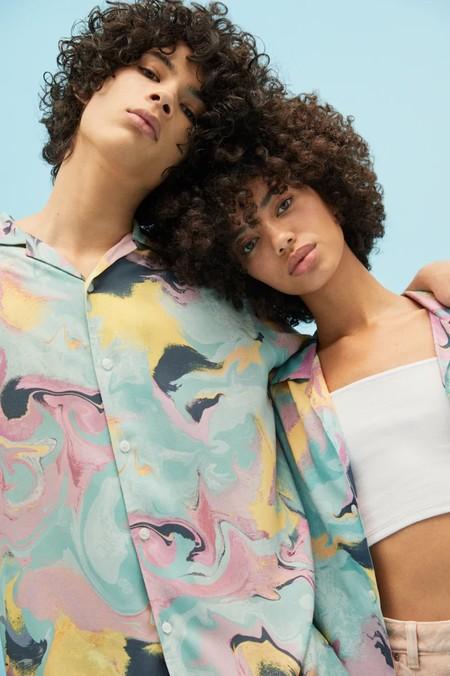 Camisas Manga Corta Estampadas 04
