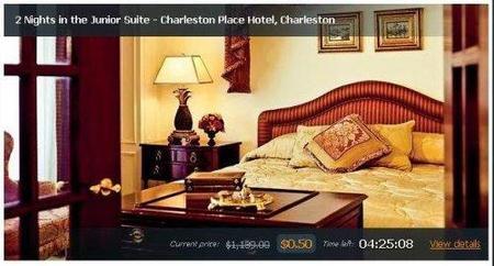 Off & Away subastan habitaciones en hoteles de lujo a partir de 0 euros