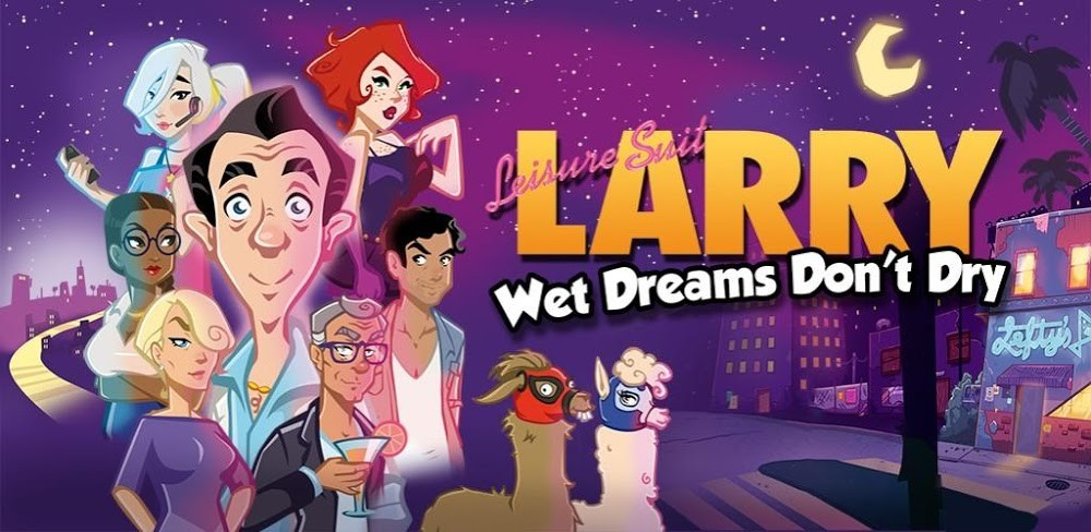 Leisure Suit Larry: Wet Dreams Don t Dry lands on Android with their new graphic adventure