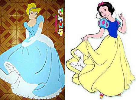 Los personajes de Disney se visten de Alta Costura
