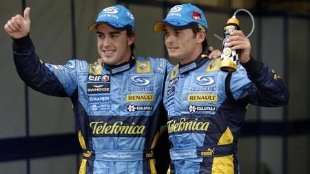 Fernando Alonso elige a Giancarlo Fisichella como el mejor compañero de equipo que ha tenido en la Fórmula 1