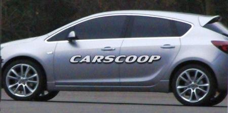 Opel Astra 2010, fotos espía al descubierto