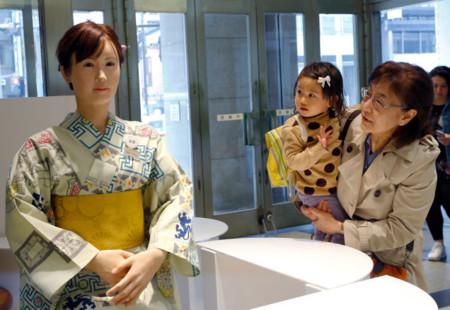 El robot en el banco, el robot en la tienda de ropa, el robot que prepara el café...