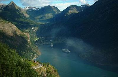 Patrimonio Mundial de Noruega