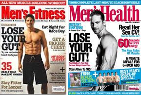 El Agosto en las revistas masculinas