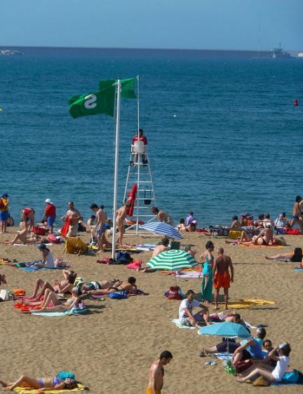 Playa Poniente Gijón