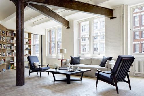 Conoce Lafayette Loft, un loft en Nueva York con un estilo minimalista e industrial que nos encanta.