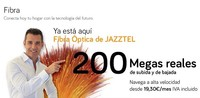 Jazztel consigue 10.000 altas al mes de fibra óptica gracias a sus 200 megas simétricos