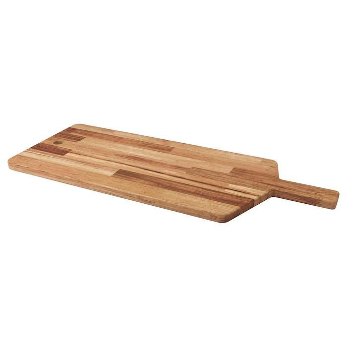SMÅÄTA Tabla de cortar, acacia72x28 cm