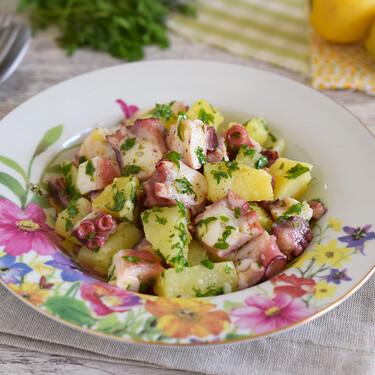 Ensalada italiana de pulpo y patata: receta de verano tan simple como deliciosa