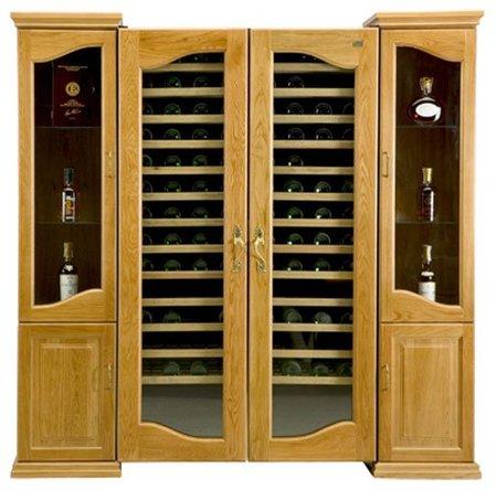 Caveduke Legend, la mejor vinoteca de su catálogo. Frío, calor y cava de puros