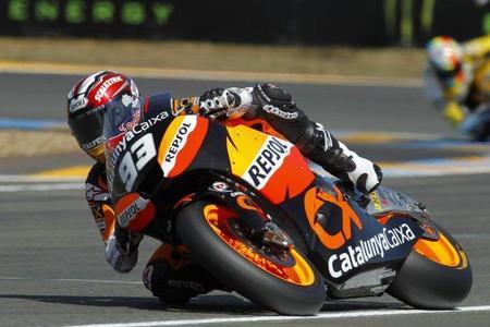Marc Márquez GP Francia acción 2