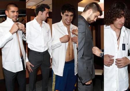 uniformes selección española