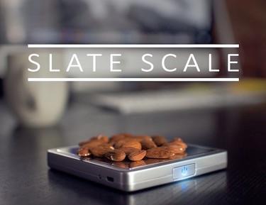 Slate, la primera báscula de cocina inteligente