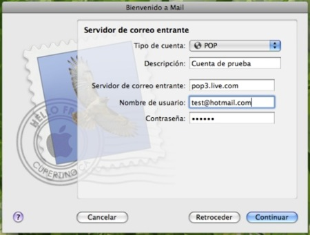 configuracion Mail 2