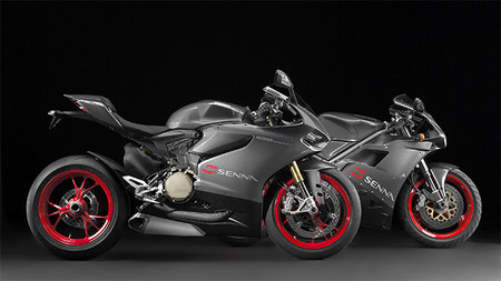 Ducati 1199 Panigale S Senna y 916 SP Senna