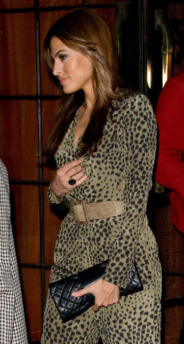 Las celebrities rugen con el estampado leopardo