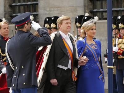 La coronación del rey Guillermo Alejandro y Máxima de Holanda