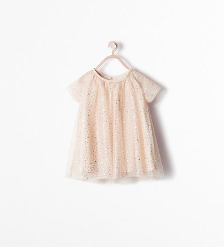 Vestido Brillos Zara Kids