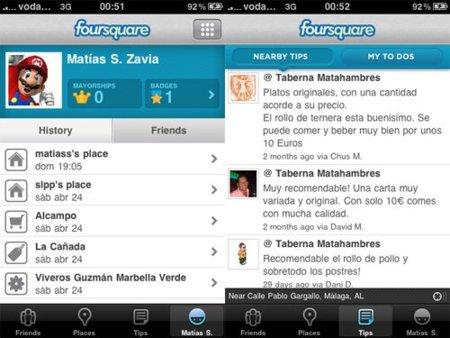 Foursquare captura