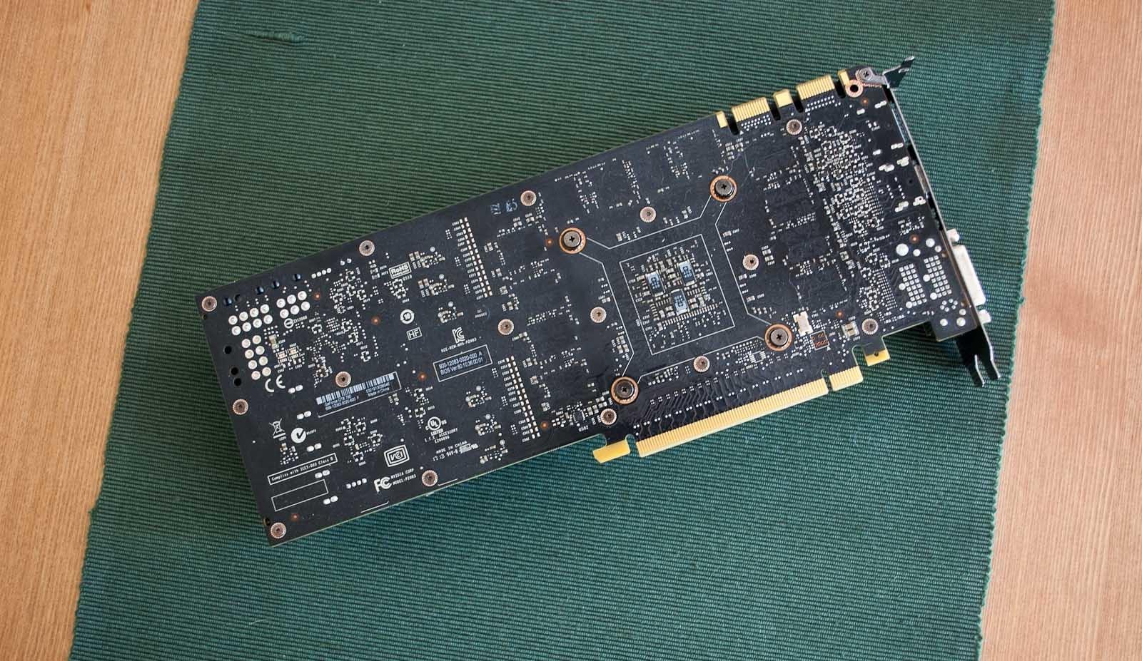 Foto de NVidia GTX 780, análisis (11/15)