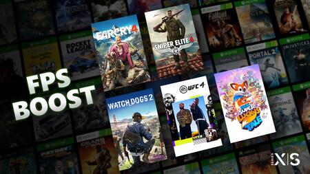 Qué es el FPS Boost  de Xbox Series X y Xbox Series S, cómo activarlo y qué juegos son compatibles