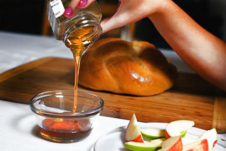 La comida tradicional durante el Rosh Hashaná, el Año Nuevo judío