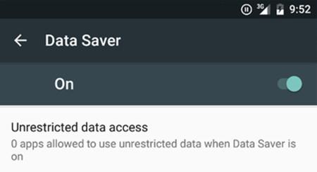 Android N incluye un modo de ahorro de datos y bloqueo de llamadas de forma nativa
