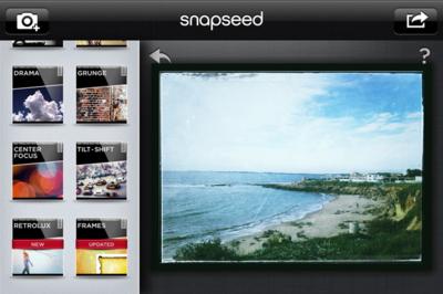Google hace llegar Snapseed a Android, y la convierte en gratuita para iOS