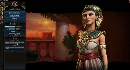 Civilization 6 Cleopatra Egypt Diplomacy