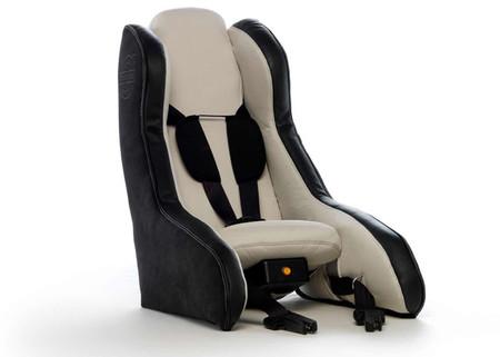 Volvo idea un asiento infantil hinchable