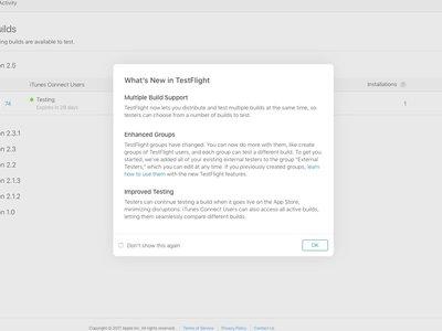 Apple actualiza TestFlight con diferentes mejoras a la hora de probar aplicaciones