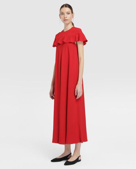 vestido red valentino