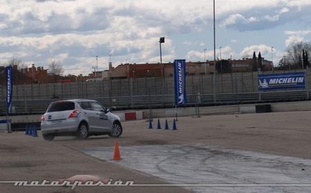 Michelin, Circuito del Jarama, Neumáticos nuevos y neumáticos desgastados a prueba 06