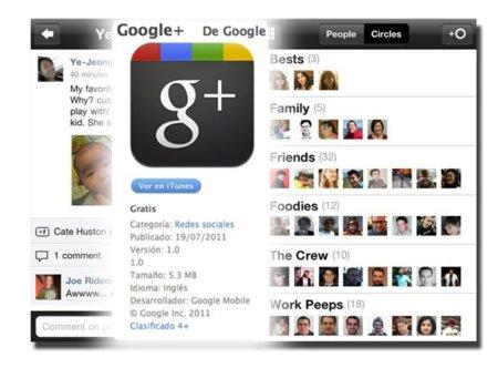 Google+ para IOS es la aplicación gratuita más popular en la App Store