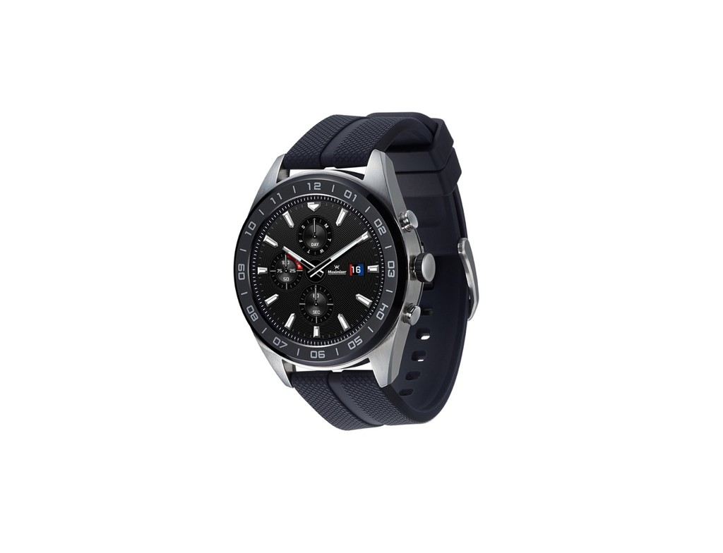 LG Watch W7, manecillas mecánicas en un horómetro inteligente con Wear OS