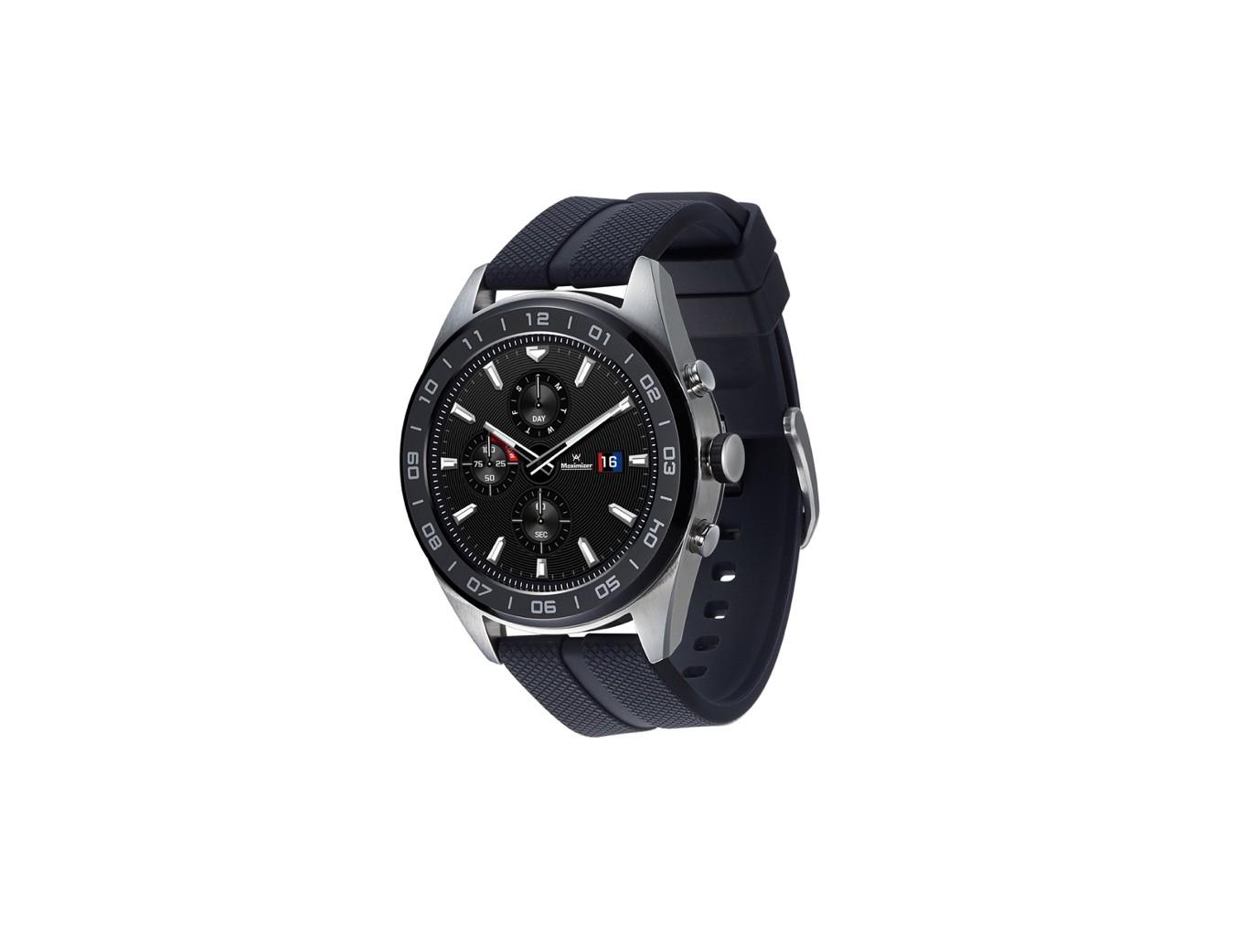W7Manecillas Un Inteligente Wear Mecánicas En Reloj Lg Os Watch Con BorCWxde