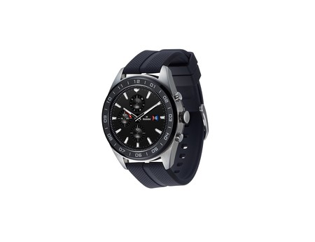 LG Watch W7, manecillas mecánicas en un reloj inteligente con Wear OS