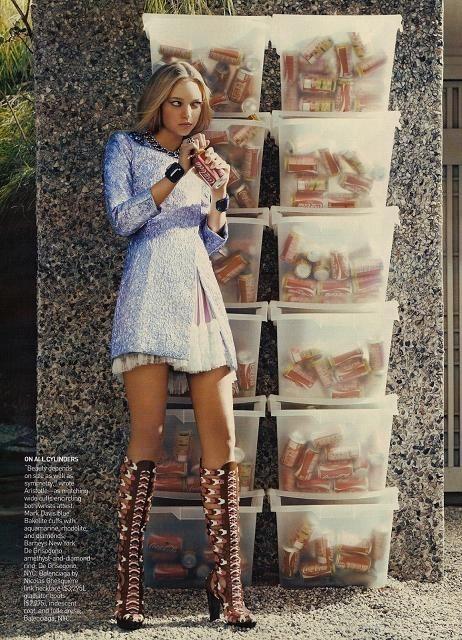 Foto de Gemma Ward - Vogue, diciembre 2007 (4/6)