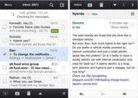 Google vuelve a publicar su aplicación nativa para Gmail pero sigue sin convencer