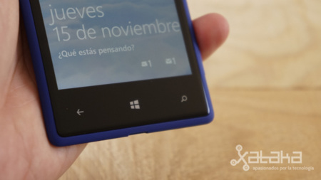 HTC 8X controles Window Phone 8