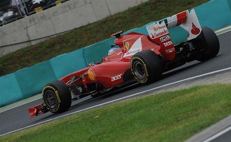 GP de Hungría F1 2011: Fernando Alonso vuelve a subirse al podio por cuarta vez consecutiva