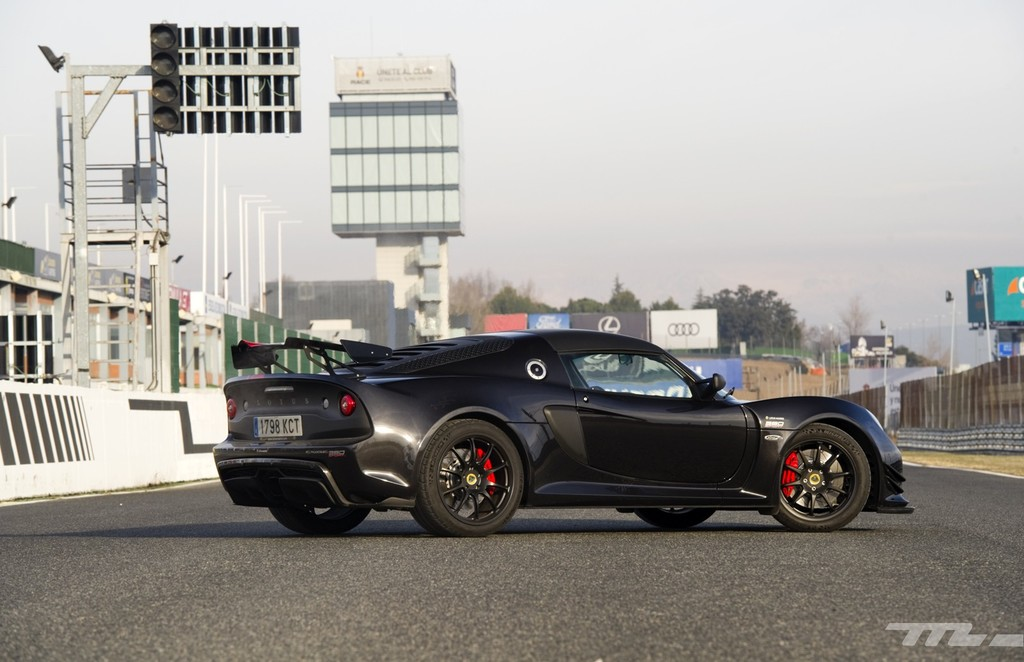Lotus Exige 380 Sport trasera lateral