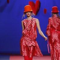 Agatha Ruiz de la Prada en la Cibeles Madrid Fashion Week Otoño-Invierno 2011/2012