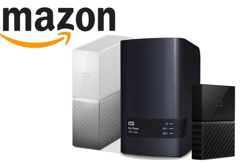 Ofertas en almacenamiento Western Digital en Amazon: TBs y TBs de espacio para tus archivos y copias de seguridad a los mejores precios