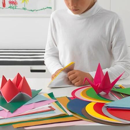 Lustigt Papel Origami Colores Variados Formas Variadas 0737546 Pe646197 S5