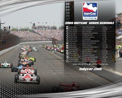 Calendario provisional 2009 de las IndyCar Series