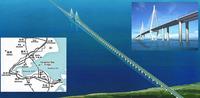 Los chinos inauguran el puente marítimo más largo del Mundo, de 36 kilómetros